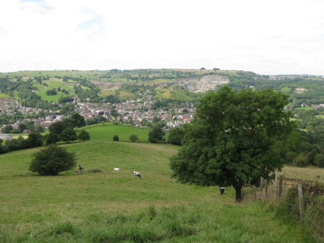 Wirksworth from above